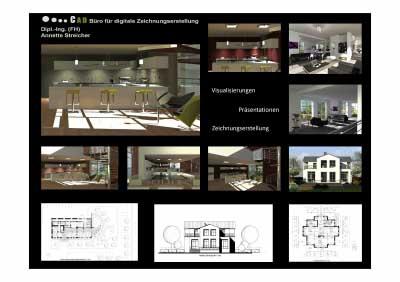 Architektur holzminden bauzeichnung cad holzminden for Raumgestaltung 2d